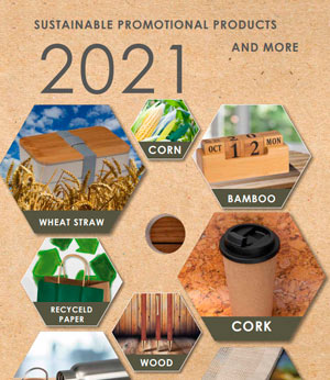 SUSTAINABLE PROMOTIONAL PRODUCTS 2021